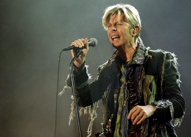 David Bowie, who has been nominated for two posthumous Brit Awards, a year after his death. [PA]