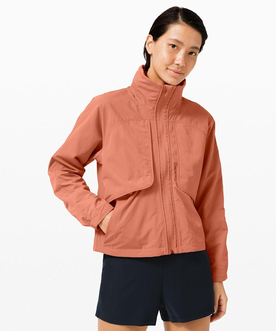 """<p><strong>Lululemon</strong></p><p>lululemon.com</p><p><a href=""""https://go.redirectingat.com?id=74968X1596630&url=https%3A%2F%2Fshop.lululemon.com%2Fp%2Fjackets-and-hoodies-jackets%2FAlways-Effortless-Jacket-MD%2F_%2Fprod9280114&sref=https%3A%2F%2Fwww.seventeen.com%2Ffashion%2Fg34017122%2Flululemon-sale-we-made-too-much%2F"""" rel=""""nofollow noopener"""" target=""""_blank"""" data-ylk=""""slk:Shop Now"""" class=""""link rapid-noclick-resp"""">Shop Now</a></p><p><strong><del>$128 </del>$89 (34% off)</strong></p><p>Whether you're running errands or embarking on an outdoor run, Lululemon's <a href=""""https://go.redirectingat.com?id=74968X1596630&url=https%3A%2F%2Fshop.lululemon.com%2Fp%2Fjackets-and-hoodies-jackets%2FAlways-Effortless-Jacket-MD%2F_%2Fprod9280114&sref=https%3A%2F%2Fwww.seventeen.com%2Ffashion%2Fg34017122%2Flululemon-sale-we-made-too-much%2F"""" rel=""""nofollow noopener"""" target=""""_blank"""" data-ylk=""""slk:Always Effortless jacket"""" class=""""link rapid-noclick-resp"""">Always Effortless jacket</a> will protect you from all the elements — stylishly, of course. </p>"""