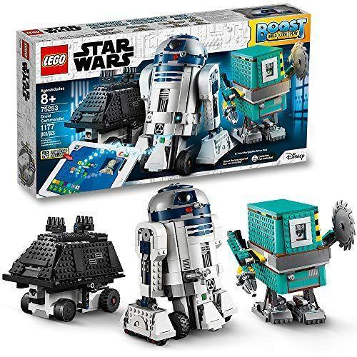 "<p><strong>LEGO</strong></p><p>amazon.com</p><p><strong>$199.95</strong></p><p><a href=""https://www.amazon.com/dp/B07QNZG3V2?tag=syn-yahoo-20&ascsubtag=%5Bartid%7C10055.g.29513983%5Bsrc%7Cyahoo-us"" rel=""nofollow noopener"" target=""_blank"" data-ylk=""slk:Shop Now"" class=""link rapid-noclick-resp"">Shop Now</a></p><p>Once he learns to build and code his droid with the included app, he can <strong>start going on missions, build tools and weapons — and tackle obstacles</strong>. Each droid has its own personality and set of skills for a unique play experience. <em>Ages 8+ </em><br></p>"