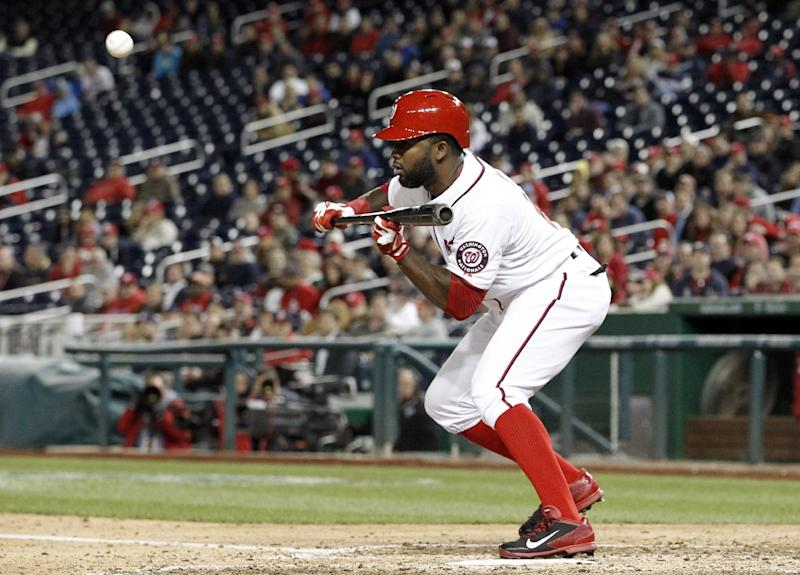 Nationals place Span on 7-day DL with concussion