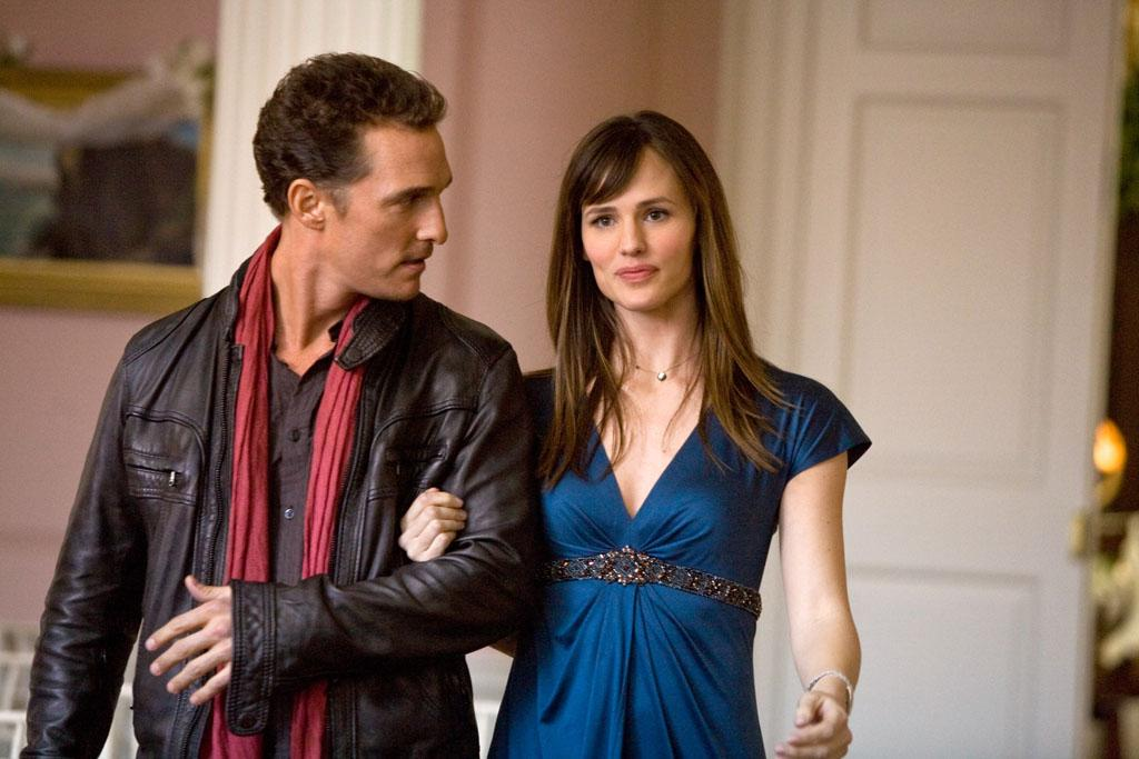"<a href=""http://movies.yahoo.com/movie/contributor/1800018907"">Matthew McConaughey</a> and <a href=""http://movies.yahoo.com/movie/contributor/1800338890"">Jennifer Garner</a> in New Line Cinema's <a href=""http://movies.yahoo.com/movie/1809994768/info"">Ghosts of Girlfriends Past</a> - 2009"