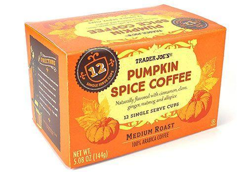 <p>If you're more of a Keurig kind of coffee drinker, grab some pumpkin spice k-cups. These ones are naturally flavored with cloves, cinnamon, and other spices.</p>
