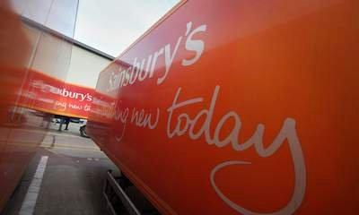 Sainsbury's Sales Down 2.8% In Three Months