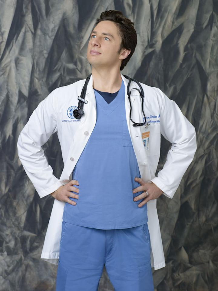 "Zach Braff stars as J.D. in ""Scrubs."""