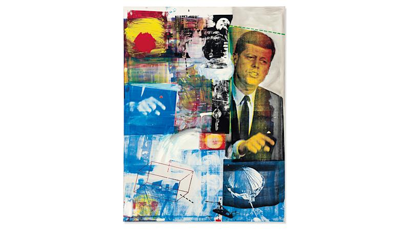 Robert Rauschenberg's Buffalo II, which sold for $88.8 million.