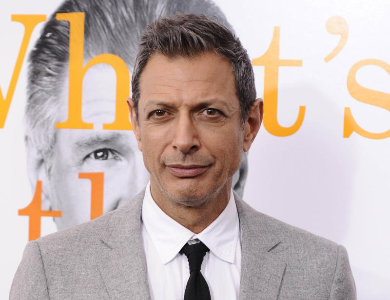 "FILE - This Nov. 7, 2010 file photo shows Jeff Goldblum at the premiere of ""Morning Glory"" at The Ziegfeld Theatre in New York. A judge on Tuesday June 12, 2012 granted Goldblum a three-year restraining order against Linda Ransom, who the actor says has been harassing him for a decade and came to his house repeatedly last month.  (AP Photo/Peter Kramer, file)"