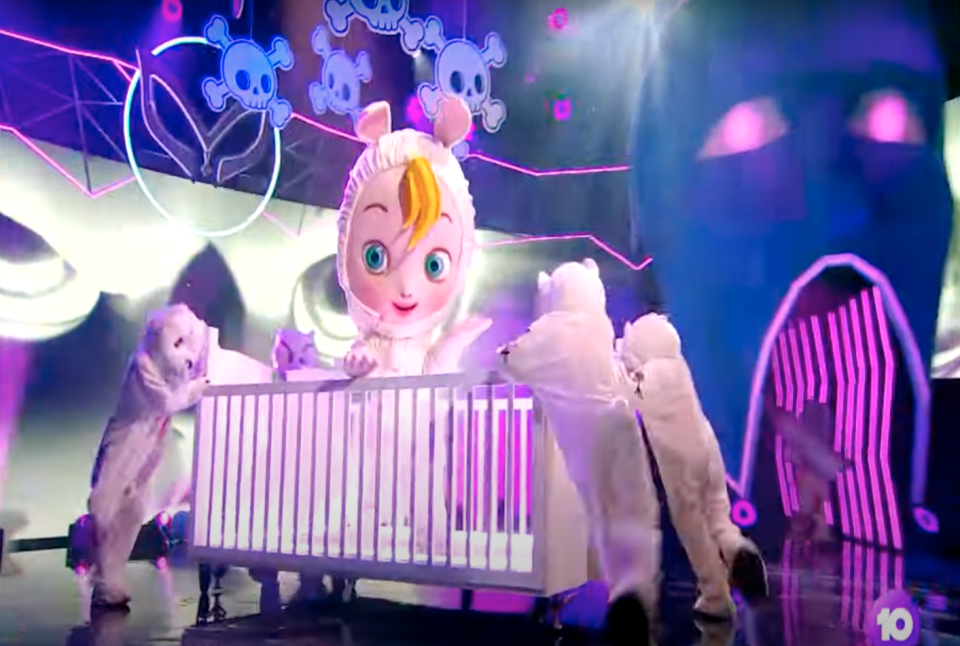 The Baby on The Masked Singer Australia