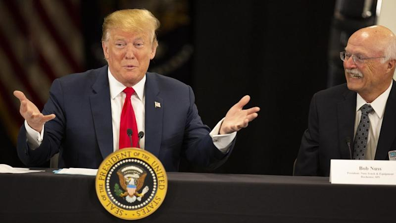 US President Donald Trump has doubled down on his attack on Muslim congresswoman Ilhan Omar