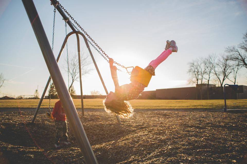 New research has revealed the age children are allowed to play outside alone has increased. (Getty Images)