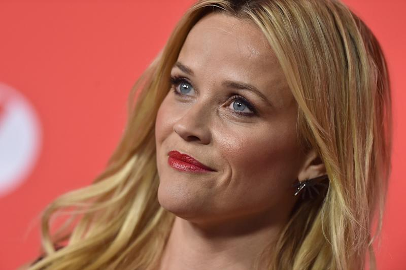 "Reese Witherspoon at the ""Home Again"" premiere in Los Angeles last week. (Axelle/Bauer-Griffin via Getty Images)"