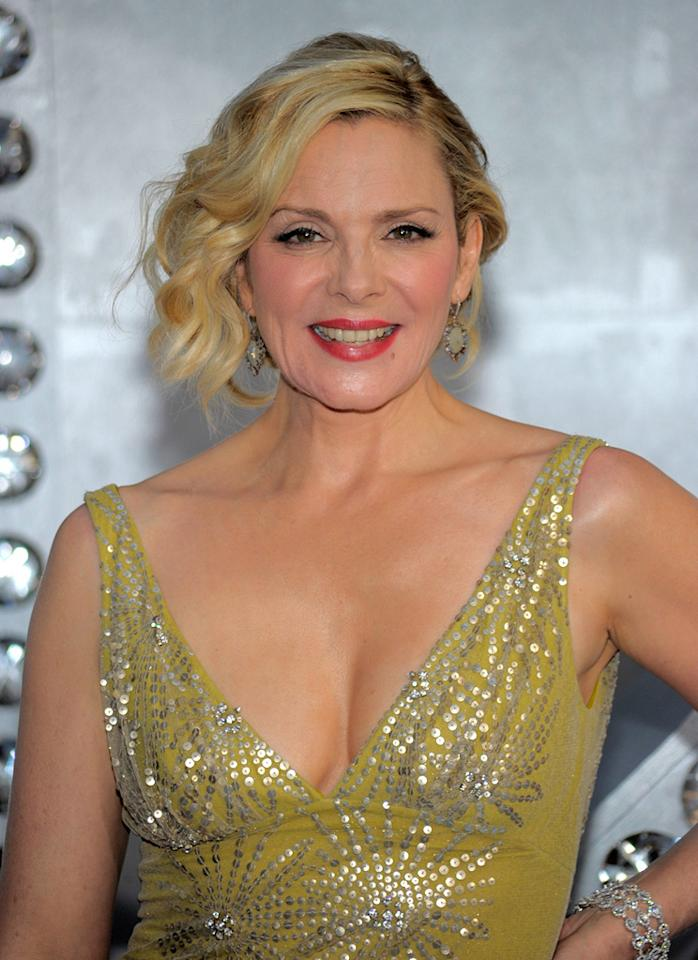 """<a href=""""http://movies.yahoo.com/movie/contributor/1800020428"""">Kim Cattrall</a> at the New York City premiere of <a href=""""http://movies.yahoo.com/movie/1810111276/info"""">Sex and the City 2</a> - 05/24/2010"""