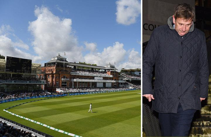 James Lattimer, 51,admitted o fraud for entry into the Lord's Pavillion (Picture: Getty/PA)