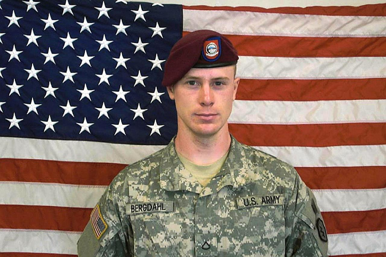 Private First Class Bowe Bergdahl, before his capture by the Taliban in Afghanistan is pictured in a photo obtained by the US Army on June 1, 2014 (AFP Photo/)