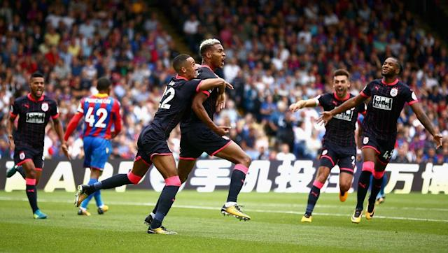<p>While many are predicting Huddersfield Town to struggle this season, the Terriers' opening day result may have given fans reason to think otherwise.</p> <br><p>In their first game back in the big time, David Wagner's side travelled to Crystal Palace in what looked to be an easy start to the season for Palace.</p> <br><p>Huddersfield ran out 3-0 winners thanks to a double from their new signing Steve Mounie and an own goal from Joel Ward.</p> <br><p>It was the perfect start to the season which saw Huddersfield top of the Premier League in their first season back. However fans were only able to enjoy the sight for one day, as Manchester United thrashed West Ham 4-0 on Sunday to take over top spot.</p>