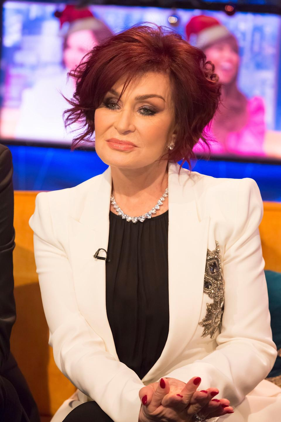Sharon Osbourne appearing on Jonathan Ross' talk show last year (Photo: Brian J Ritchie/Hotsauce/Shutterstock)