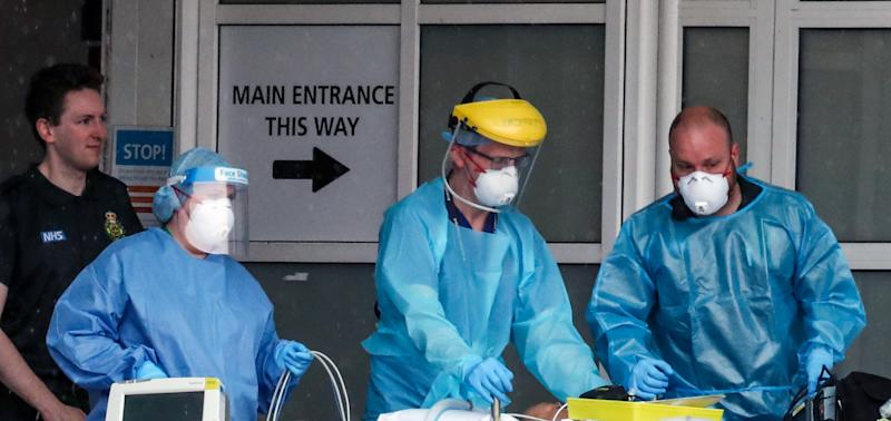 A frontline doctor has urged people to stop stealing protective equipment from hospitals. (Picture: Peter Byrne/PA Wire)