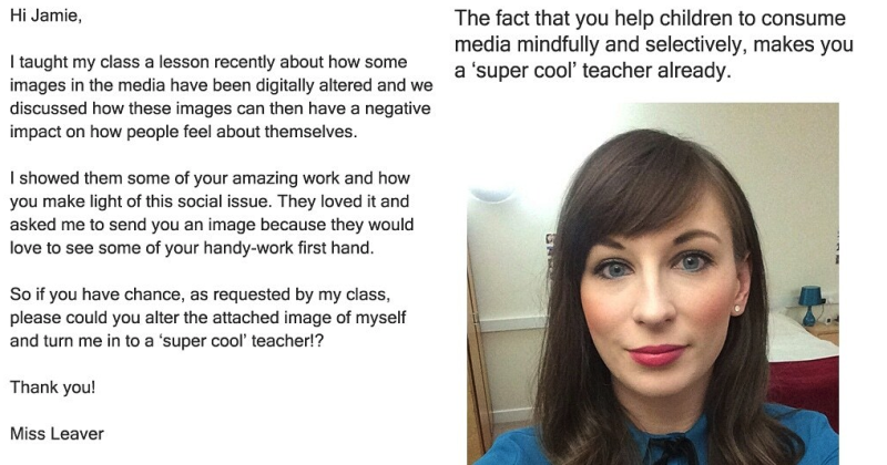 Graphic designer James Fridman had the best response to a