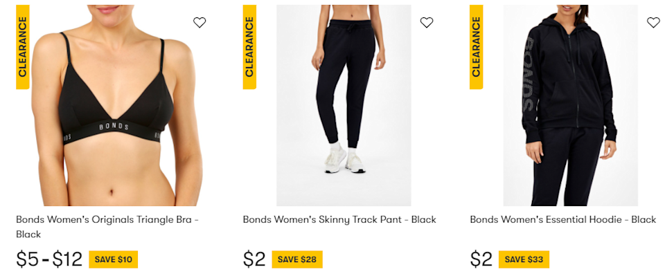 Screengrab from Big W website showing items for $2. Source: Big W website (via Facebook)