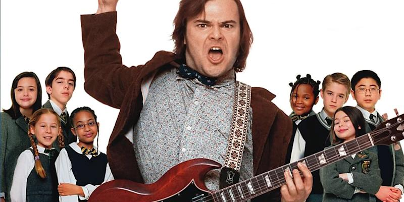 Jack Black delivers a musical education in 'School Of Rock' - Credit: Paramount