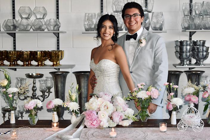 Jose Loyo and his wife Yamileth Martinez both came to the United States from Mexico as small children; they have burgeoning careers in Indiana, where they grew up, but are concerned they and others like them could be deported if laws aren't implemented to create a path for citizenship for DACA recipients.