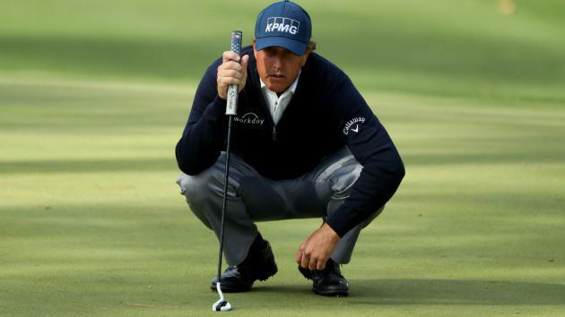 'Tired' Mickelson rues sloppy finish, but retains hope of victory
