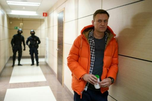 Russian opposition leader Alexei Navalny detained again