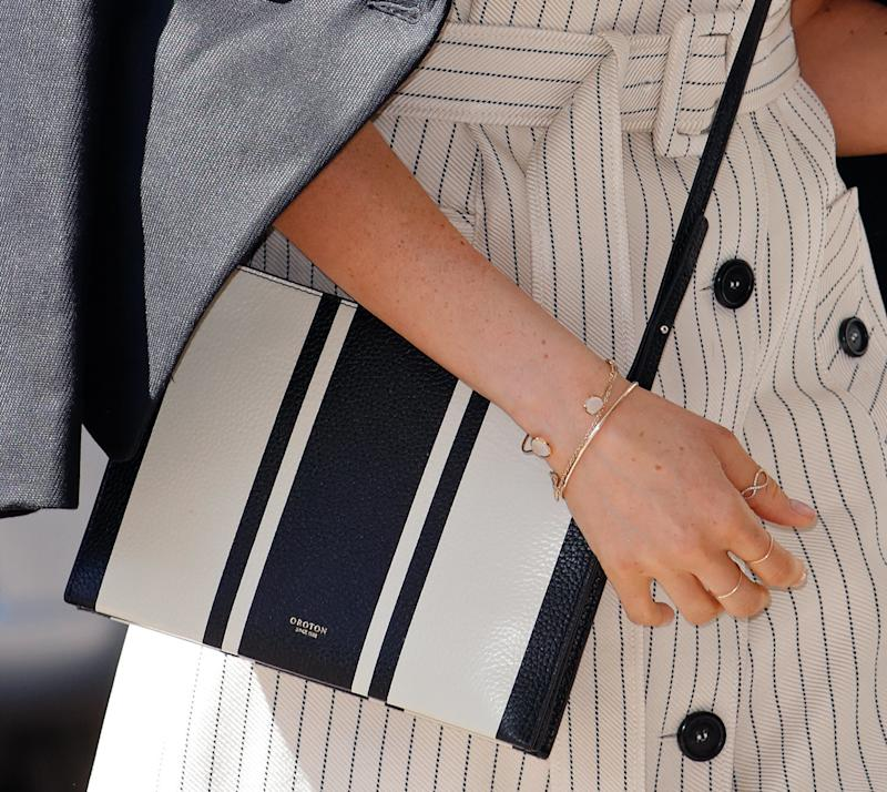 This Oroton crossbody bag sparked its own Meghan Markle-related Google search. (Max Mumby/Indigo via Getty Images)
