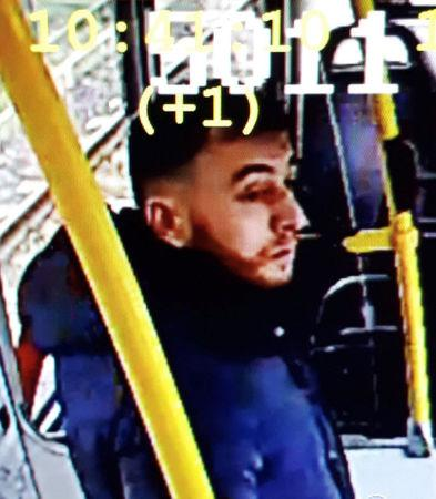 Handout still image taken from CCTV footage shows a man who has been named as a suspect in Monday's shooting in Utrecht