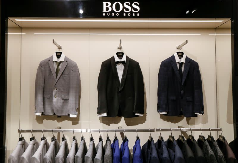Hugo Boss sees demand for suits despite home working