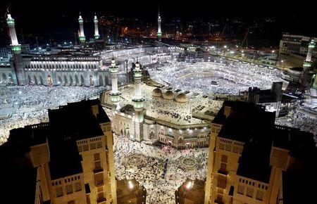 FILE PHOTO: General view of the Kaaba at the Grand Mosque in Mecca