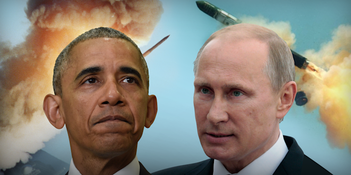 US and Russia Nuclear war doomsday missiles