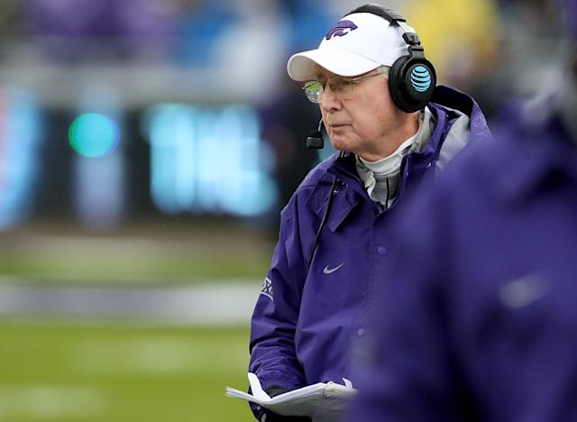 Bill Snyder has won 202 games at Kansas State. (Getty)