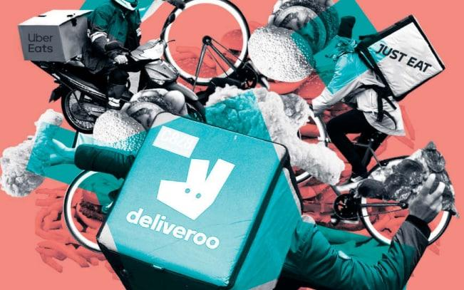 The food delivery start-up turned in some profitable months as lockdown pushed more people to ordering take out - Telegraph/Telegraph
