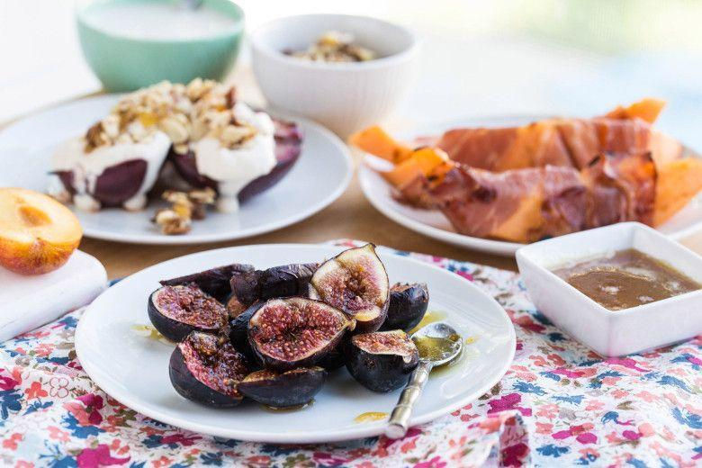 """<p>Top grilled figs with a dreamy orange and vanilla-infused honey for a surprising treat.</p><p><strong><a href=""""https://thepioneerwoman.com/food-and-friends/grilling-fruit-101/"""" rel=""""nofollow noopener"""" target=""""_blank"""" data-ylk=""""slk:Get the recipe."""" class=""""link rapid-noclick-resp"""">Get the recipe.</a></strong></p><p><a class=""""link rapid-noclick-resp"""" href=""""https://go.redirectingat.com?id=74968X1596630&url=https%3A%2F%2Fwww.walmart.com%2Fip%2FThe-Pioneer-Woman-Timeless-Beauty-Pre-Seasoned-Plus-12-Cast-Iron-Fry-Pan%2F106289810&sref=https%3A%2F%2Fwww.thepioneerwoman.com%2Ffood-cooking%2Fmeals-menus%2Fg32188535%2Fbest-grilling-recipes%2F"""" rel=""""nofollow noopener"""" target=""""_blank"""" data-ylk=""""slk:SHOP CAST-IRON PANS"""">SHOP CAST-IRON PANS</a></p>"""