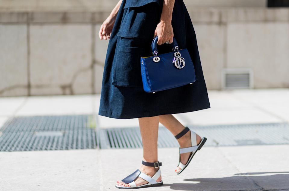 """<p>Finding a comfortable sandal often requires trial and error, blisters, and foot cramps. <a href=""""https://www.marieclaire.com/fashion/g32308971/comfortable-shoe-brands/"""" rel=""""nofollow noopener"""" target=""""_blank"""" data-ylk=""""slk:You don't have time for that."""" class=""""link rapid-noclick-resp"""">You don't have time for that.</a> To make <a href=""""https://www.marieclaire.com/fashion/a35927079/summer-fashion-trends-2021/"""" rel=""""nofollow noopener"""" target=""""_blank"""" data-ylk=""""slk:your summer shopping easier"""" class=""""link rapid-noclick-resp"""">your summer shopping easier</a>, we've found 21 pairs of stylish shoes that also check off the comfort box. From the latest pair of Birkenstocks to a cute little kitten heel, these pairs cater to anyone who desires functionality <em>and</em> style. A summer shoe needs to carry you from walks around the neighborhood to weekend adventures, and also last through every activity on a vacation itinerary, which is no small feat. Luckily, the 27 pairs ahead can do all this and more; shop the comfiest summer sandals, ahead, before they completely sell out. (PSA: if you also really want a doctor's advice, see the types of shoes a <a href=""""https://www.marieclaire.com/fashion/news/g4514/most-comfortable-heels/"""" rel=""""nofollow noopener"""" target=""""_blank"""" data-ylk=""""slk:podiatrist recommends"""" class=""""link rapid-noclick-resp"""">podiatrist recommends</a>.)</p><p>•••</p><p><em>For more stories like this, including celebrity news, beauty and fashion advice, savvy political commentary, and fascinating features, sign up for the </em>Marie Claire<em> newsletter</em><em> (<a href=""""https://preferences.hearstmags.com/brands/MAR/subscribe.aspx?authId=F0CC0C27-80DA-4734-ABDF-E4115B84A56B&maj=WNL&min=ARTICLES"""" rel=""""nofollow noopener"""" target=""""_blank"""" data-ylk=""""slk:subscribe here"""" class=""""link rapid-noclick-resp"""">subscribe here</a>).</em></p>"""