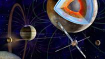 <p>This probe from the European space agency will not explore one but<em> three</em> moons of Jupiter—Ganymede, Callisto, and Europa—as well as the Gas Giant itself. Once it makes its seven-year journey after launch in 2022, the probe will enter the Jupiter system, but it will take another four years before it reaches orbit around Ganymede in 2033.</p><p>Galileo would be proud. </p>