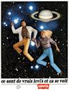 <p>This Levi's ad shows how lighter, brighter denim was coming into fashion.</p>