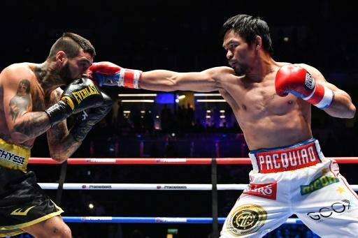 Pacquiao registered the 60th win of a fabled 23-year career