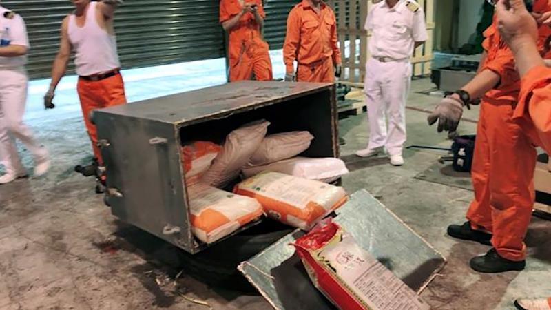More Than Hk 100 Million Worth Of Ketamine Found In Welded Machine Shipped To Taiwan Through Hong Kong