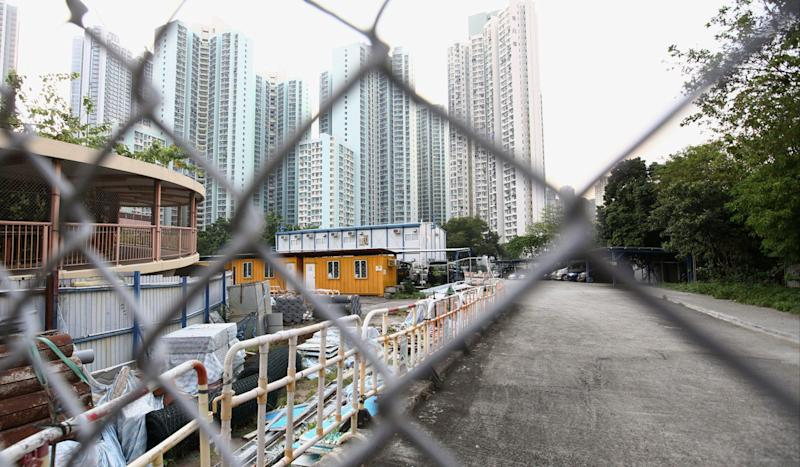 Hong Kong aiming to build 12,600 public housing flats on former airport site by 2026