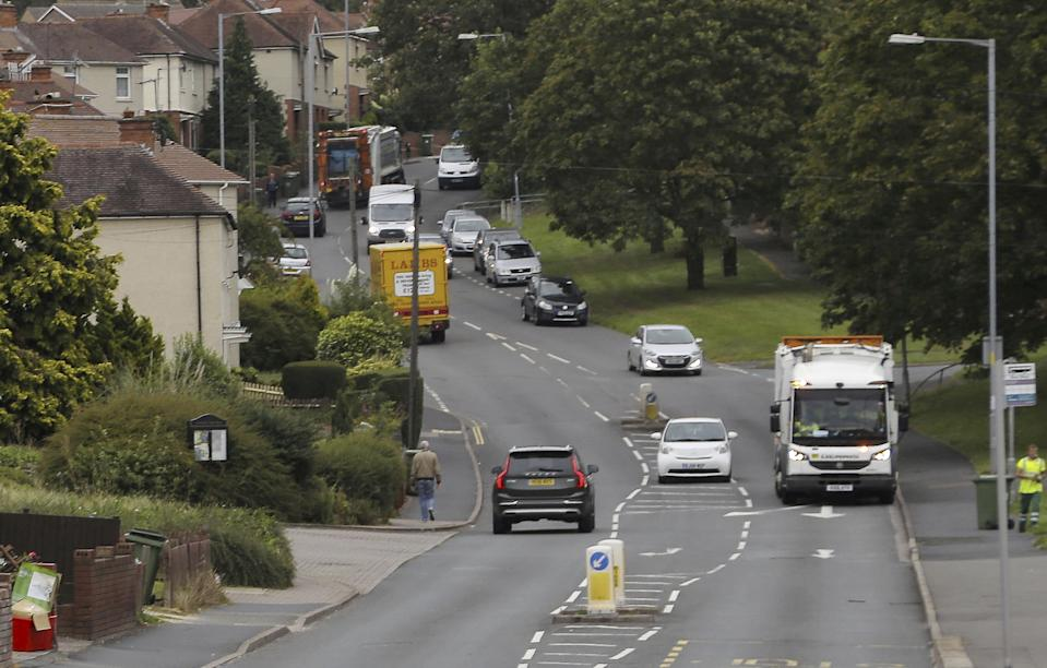 Police are hunting two men who tried to kidnap a ten-year-old girl on Tolladine Road in Worcester. (SWNS)