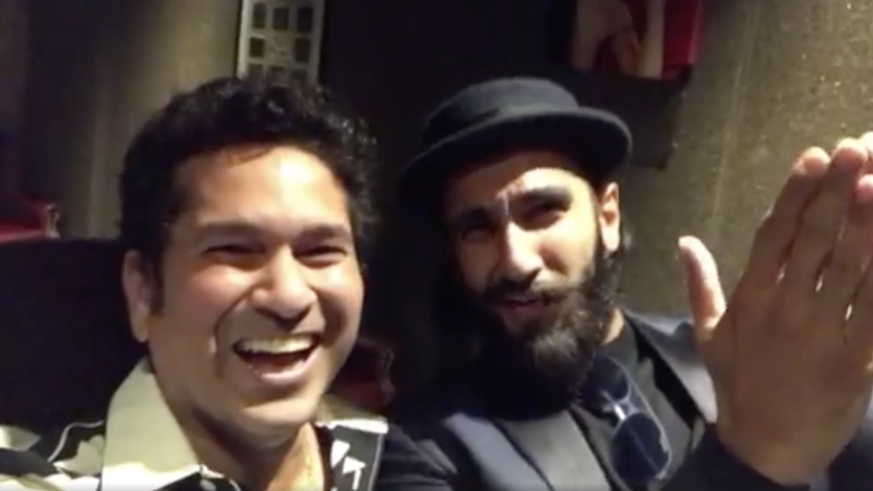 What Happens When Sachin Tendulkar Meets Ranveer Singh