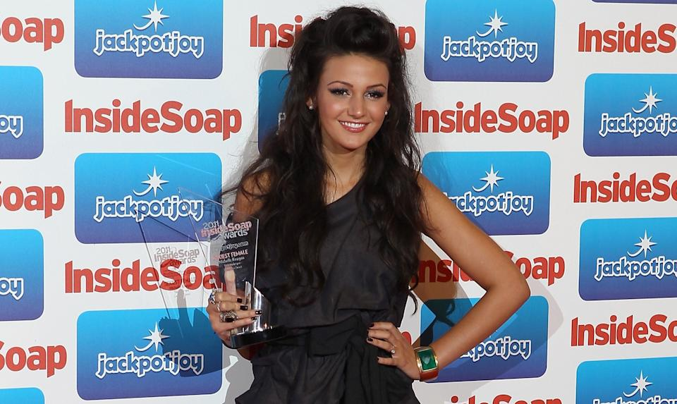 Michelle Keegan won numerous 'Sexiest Female' awards during her time starring in 'Corrie'. (PA)
