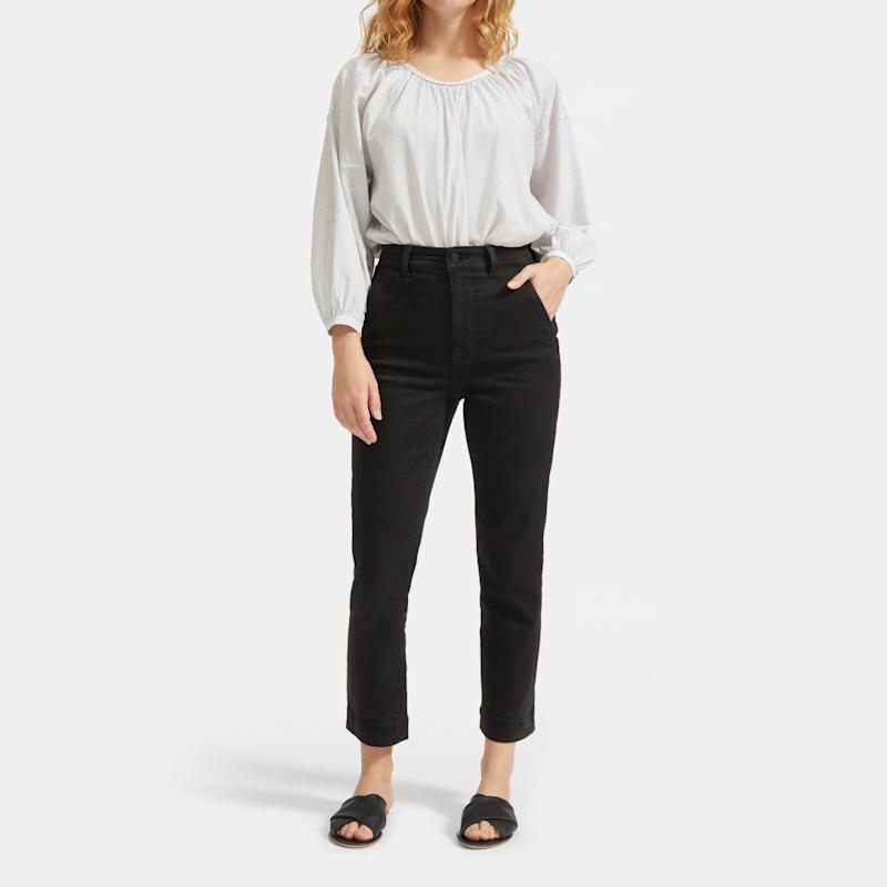 The Slim Leg Crop Pant