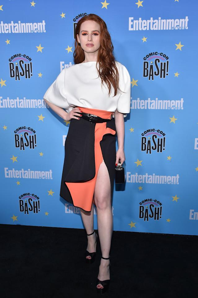 Madelaine Petsch Wore This Summer's Hottest Makeup Trend, and We're Sweating