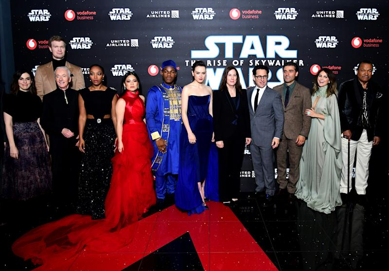 Despite some harsh reviews —Disney's 'Star Wars: The Rise of Skywalker' finished off a strong opening weekend with over $176 million domestically