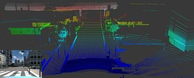 High fidelity, physics-based LiDAR & Camera simulation in Ansys VRXPERIENCE