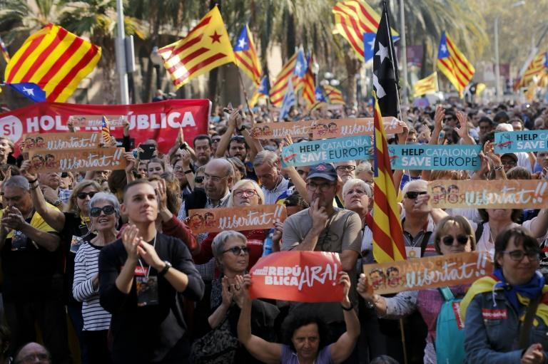 The Catalonia independence crisis has deeply divided Catalans and seen hundreds of businesses move their headquarters out of the wealthy region, home to 7.5 million people