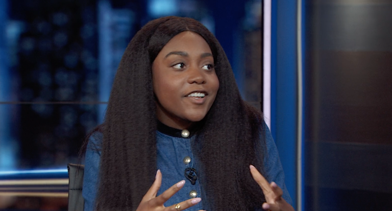 "Noname talks about her book club on The Daily Show: ""It's a little bit of a fuck you to Amazon"""