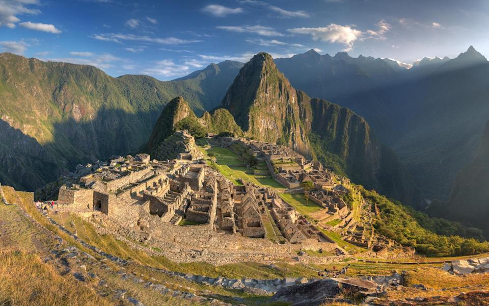 Sarah Baxter tried out a new trail from Cusco to Machu Picchu - Getty